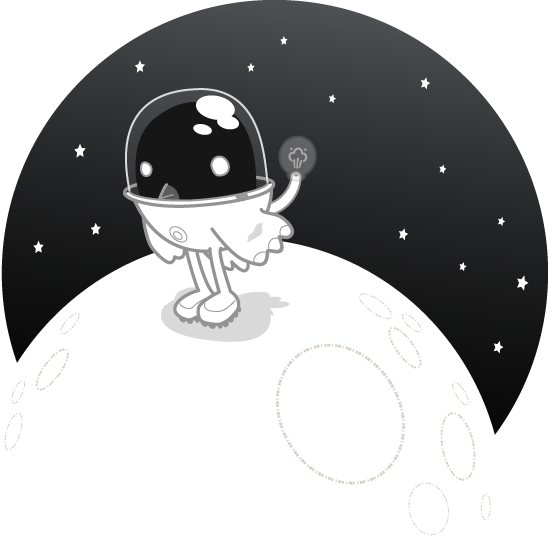 Songbird Mascot Gassy In Space
