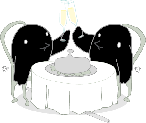 Songbird Mascot Gassy While On A Date